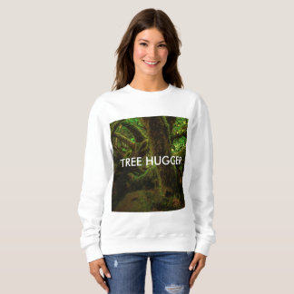 Magic Forest Tree Hugger Photograph Sweatshirt