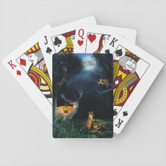 Magic Forest Wildlife Playing Cards