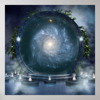 Magic Galaxy Portal Poster