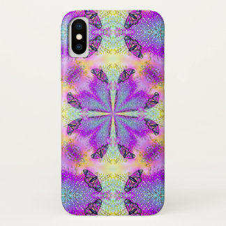 Magic Glitter Butterfly Dream Mandala Case-Mate iPhone Case