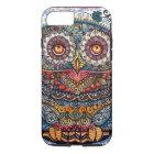 Magic graphic owl painting Case-Mate iPhone case