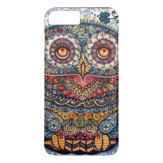 Magic graphic owl painting iPhone 7 plus case