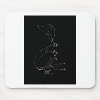 magic hare mouse pad