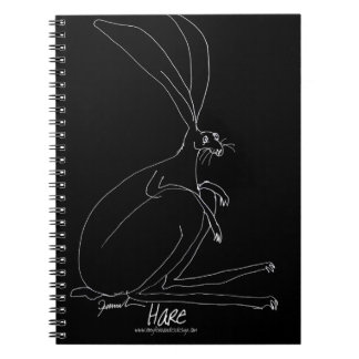 magic hare notebook