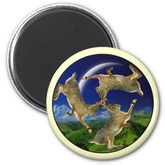 Magic Hares Magnet