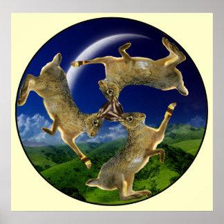Magic Hares Poster