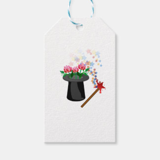magic hat and pen gift tags