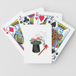 magic hat bicycle playing cards