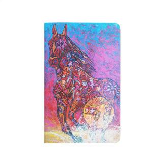 Magic horse surf n sun Pocket Journal