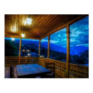 Magic Hour On The Veranda Postcard