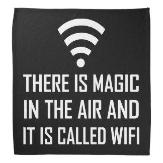 Magic In The Air Is Wifi Bandana