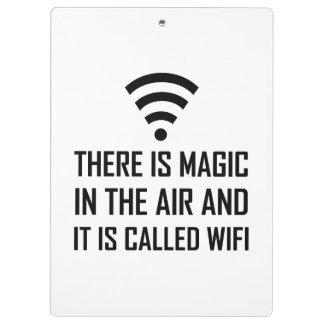 Magic In The Air Is Wifi Clipboard