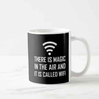 Magic In The Air Is Wifi Coffee Mug