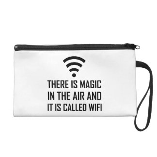 Magic In The Air Is Wifi Wristlet