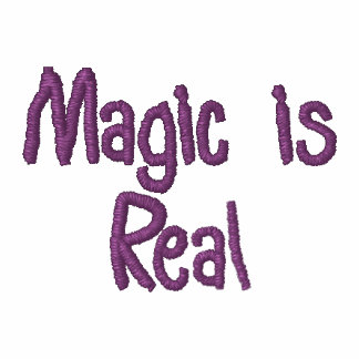 Magic is Real-embroidered shirt