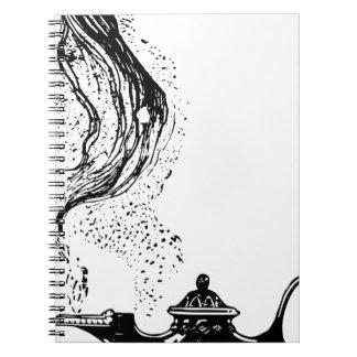 Magic Lamp Spiral Note Book