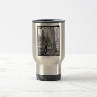 Magic Lantern Lumberjack Logging in Butte Valley Travel Mug