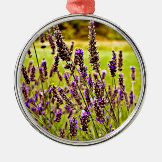 Magic Lavender Metal Ornament