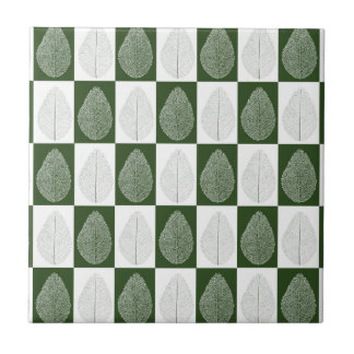 Magic Leaf on Green Tile