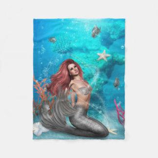 Magic Mermaid Small Fleece Blanket