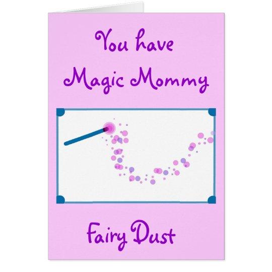 Magic Mommy Fairy Dust Card