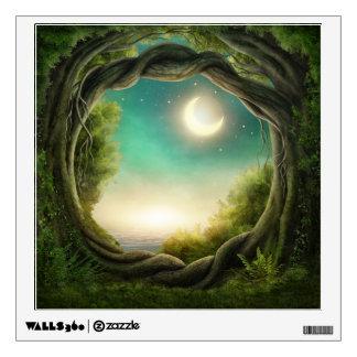 Magic Moon Tree Wall Decal