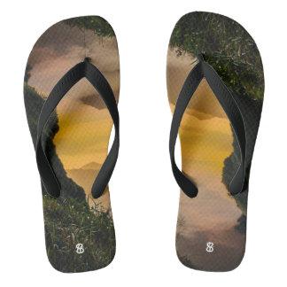 Magic Mountain Flip Flops