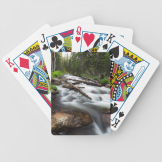 Magic Mountain Stream Poker Deck