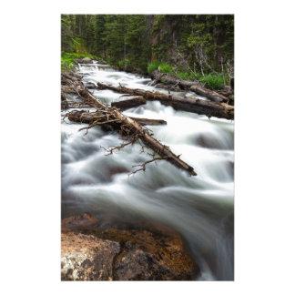 Magic Mountain Stream Stationery