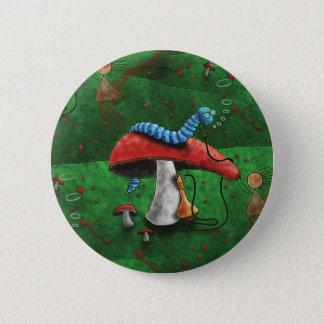 Magic Mushroom 2 Inch Round Button