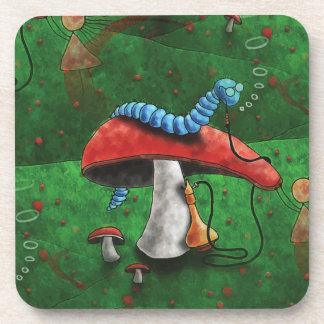 Magic Mushroom Coasters