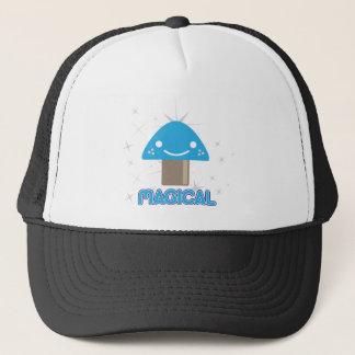 Magic Mushroom Kawaii Trucker Hat