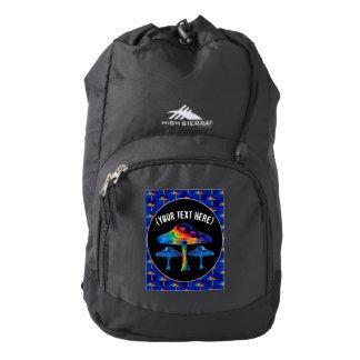 Magic Mushrooms Backpack