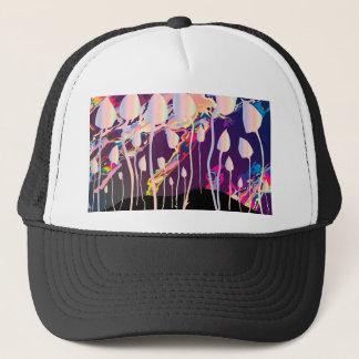 Magic Mushrooms Jazz Background Trucker Hat