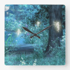 Magic night Fairy Clock