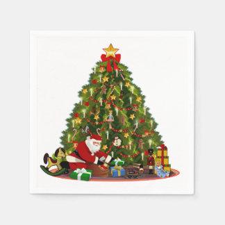 Magic of Christmas Disposable Napkins