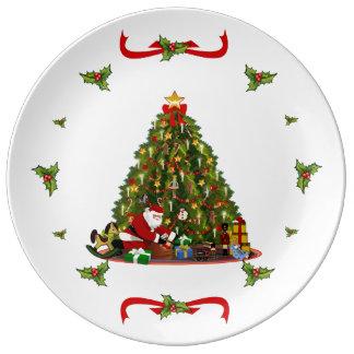 Magic of Christmas Porcelain Plate