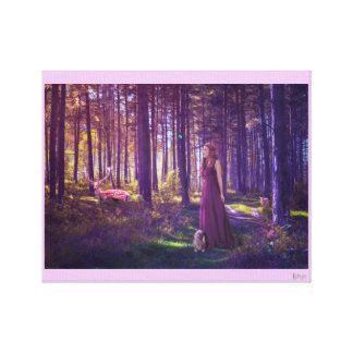 Magic of the Forest Canvas Print