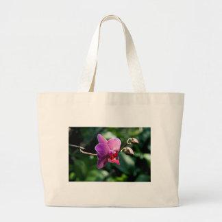Magic orchid large tote bag