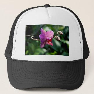 Magic orchid trucker hat