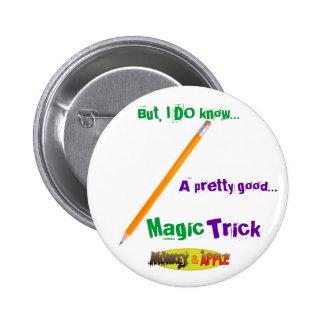 Magic Pencil buttom 2 Inch Round Button