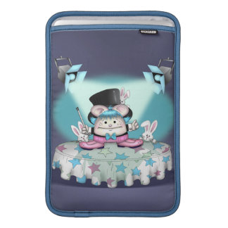"MAGIC PET 2 CARTOON Macbook Air Vertical 11"" Sleeve For MacBook Air"