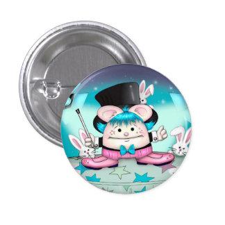 MAGIC PET CUTE CARTOON   Button Small