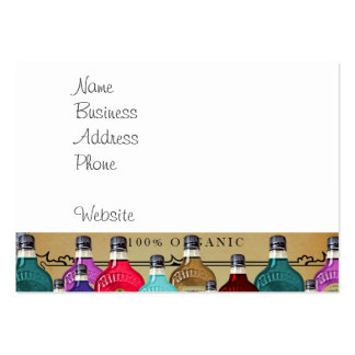 Magic Potion Apothecary Halloween Tonic Bottles Pack Of Chubby Business Cards