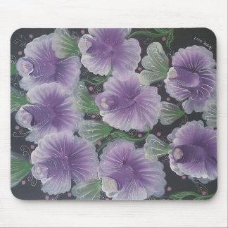 Magic purple mouse pad