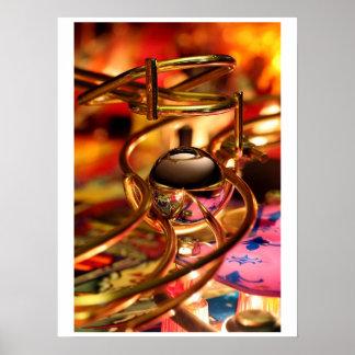 Magic Ramp Pinball Poster
