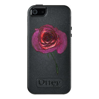 Magic Rose Apple iPhone SE/5/5s  Case, Black
