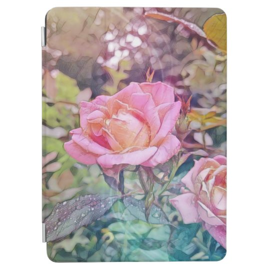 Magic rose iPad pro case
