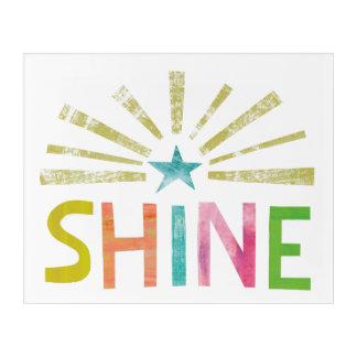 Magic Shine Acrylic Print