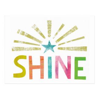 Magic Shine Postcard